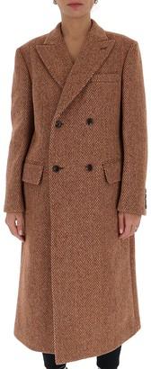 Junya Watanabe Herringbone Mid-Length Coat