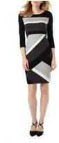 Phase Eight Dona Diagonal Block Dress