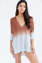 Urban Outfitters Pins And Needles Dip-Dye Tunic Top