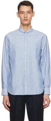 Officine Generale Blue Oxford Antime Shirt