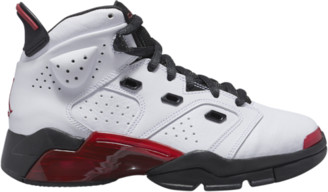 Jordan 6-17-23 Basketball Shoes - White / Gym Red / Black