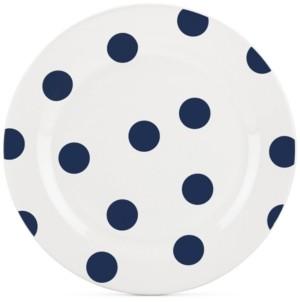 Kate Spade All in Good Taste Deco Dot 4-Pc. Cobalt Salad Plate Set