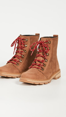 Sorel Lennox Lace Naturebear Combat Boots