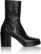 Balenciaga Men's Leather Platform Boots