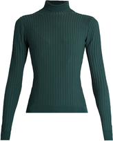 Acne Studios Ida roll-neck ribbed-knit sweater