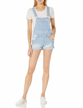 Dollhouse Women's Cuffed Shortall