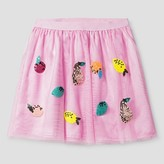 Cat & Jack Girls' A Line Skirt Cat & Jack - Peppermint Stick