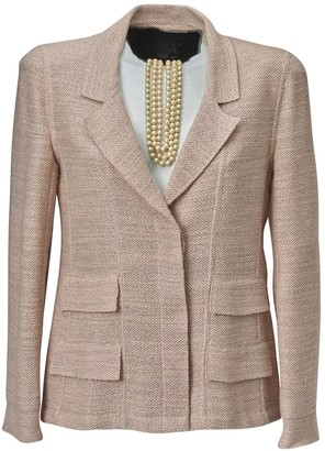 Chanel Pink Wool Jacket for Women Vintage