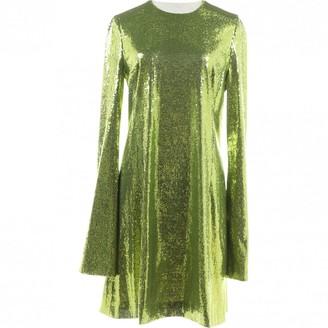 Galvan Green Dress for Women