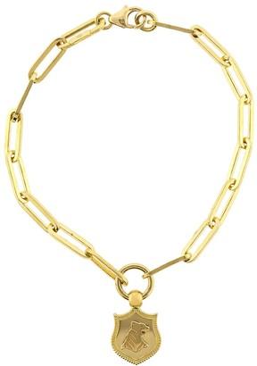 Foundrae Audemus Crest Fob Clip Bracelet