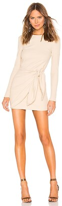superdown Dana Wrap Mini Dress