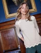 Boden Vanessa Woven Mix Sweater