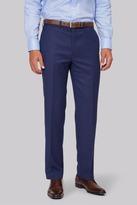 Savoy Taylors Guild Regular Fit Blue Birdseye Pants