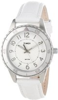 "Timex Women's T2P022KW ""Ameritus"" Watch with Leather Band"