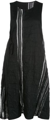 Y's Creased Midi Dress