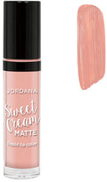Jordana Sweet Cream Matte Liquid Lip Color - Butter Cream Frosting