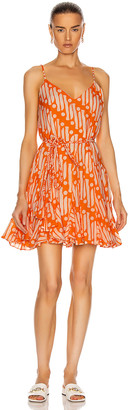 Rhode Resort Casey Dress in Orange Batik | FWRD