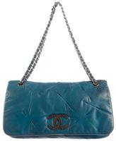 Chanel CC Glint Flap Shoulder Bag