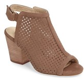 Isola Women's 'Lora' Perforated Open-Toe Bootie Sandal