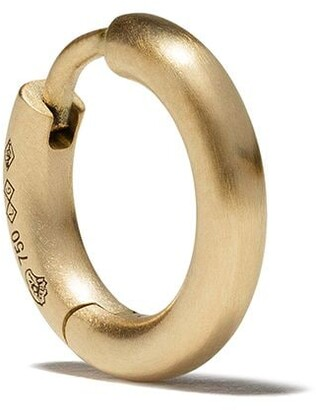 Le Gramme 18kt brushed yellow gold 17/10G Bangle earring
