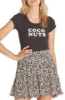 Billabong Women's Straight Up Miniskirt