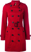 Burberry Kensington coat - women - Cotton/Viscose - 4