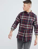 Brave Soul Long Sleeve Brushed Check Shirt