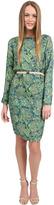 By Malene Birger Nunziata Dress in Paisley Green