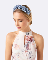 Forever New Macy Small Flower Crown Fascinator