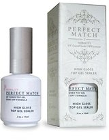 Le Chat LECHAT Perfect Match High Gloss Top Sealer, 0.5 Ounce