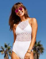aerie Crochet One Piece Swimsuit