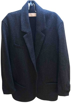 Isabel Marant Pour H&m Anthracite Wool Coat for Women