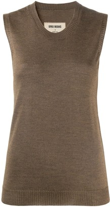UMA WANG Sleeveless Knitted Top