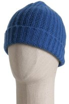 deep lake rib cashmere hat