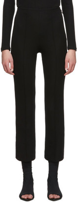 Rudi Gernreich Black Ring Zipper Trousers