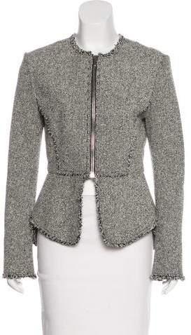 Alexander Wang Frayed Embellished Jacket