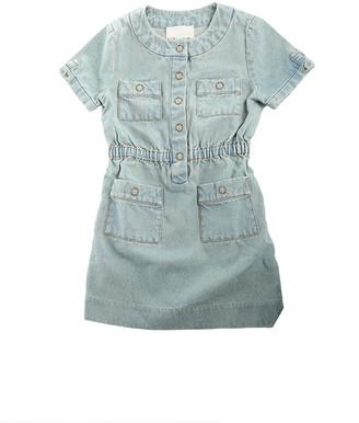3.1 Phillip Lim Kids Shortsleeve Denim Dress