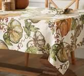 Pottery Barn Harvest Pumpkin Tablecloth