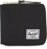 Herschel Walt nylon zip-around wallet