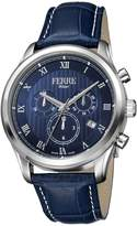 Ferré Milano Men's FM1G041L0031 Dial With Dark Leather Band Watch.