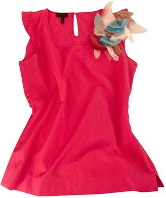 Escada Pink Silk Top for Women