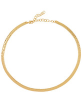 Argentovivo Hammered Closed Collar Necklace