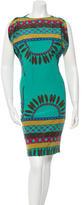 Mara Hoffman Silk Printed Dress