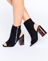 Asos EVOLUTION Side Zip Ankle Boots