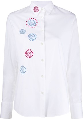 Paul Smith Embroidered Poplin Shirt
