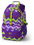Lands' End ClassMate Large Backpack - Print-Black Print