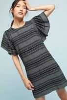 Moon River Denmark Striped Tunic Dress