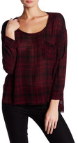 Lush Long Sleeve Plaid Shirt