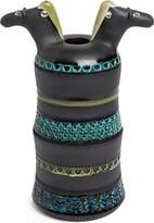Bitossi Ceramiche Horse Heads vase