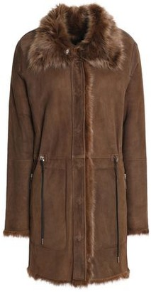 Yves Salomon Meteo By Reversible Shearling Jacket